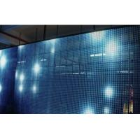 Quality SMD5050 P16 Transparent Glass Display / 5000 Nit Transparent LED Display Screen for sale