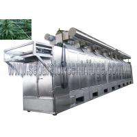 High Efficient Continuous Tunnel Dryer System For CBD Hemp Plant Material Manufactures