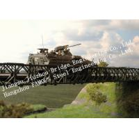 Compact 200- Type Single Span Bailey Truss Bridge Quickly Installation For Army Manufactures