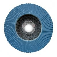 Buy cheap 100*16 115*22 125*22 150*22 180*22 MM zirconia flap disc with T27/T29 fiberglass from wholesalers