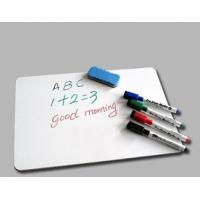 Student Magnetic White Board , Refrigerator Dry Erase Board Eco - Friendly Manufactures