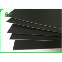 250gsm 300gsm High Stiffness Black Cardboard For Business Cards Manufactures