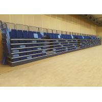 Soft Upholstered Modular Grandstands 460MM Width With Stable Understructure