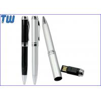 Cheap Pen Cap USB Flash Drives Full Protection Metal Material 4GB 8GB 16GB 32GB for sale