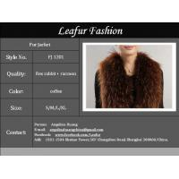 Sell Rex Rabbit + Raccoon Fur Jacket Manufactures