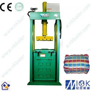 China Textile Cloth hydraulic baler on sale