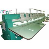 multi Needle 12 Head Computerised Indurstry Embroidery Machine / Equipment Manufactures