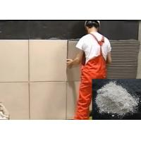 Non-Toxic Ceramic Wall Tile Adhesive Cement Based , White Marble Glue IS0 Manufactures
