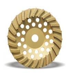 Granite marble concrete aluminum turbo diamond cup grinding wheel Manufactures