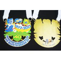 Metal Orden Sports Enamel Award Medallions Custom Design With Cut Out Effect Manufactures