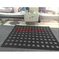 SBR Mat Rubber Sheet Flatbed Auto Grading Oscillating Knife Cutting Machine Manufactures