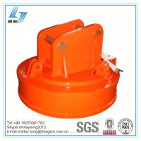 China 1000kg Lifting Capacity of Excavator Lifting Magnet for Lifting Scraps on sale