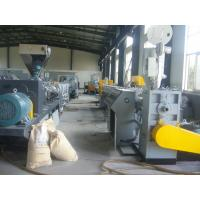 Cheap Full Automatic Double - Screw PVC Plastic Pipe Machine With CE / ISO Approved for sale
