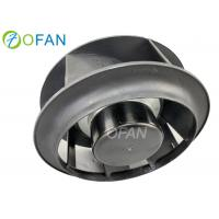 53W 133mm Centrifugal Backward Curved Fan With EC Motor Manufactures