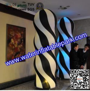 Lighting Inflatable Pillar Decoration Exterior Columns For Event Manufactures