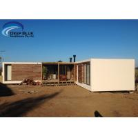 Steel Structure Modern prefabricated Houses , Uruguay Bungalow Home Plans Manufactures