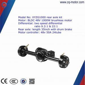850w Eletric Vehicle Rear Axle With Brushless Motor,Auto rickshaw motor  kits cq motor Manufactures