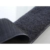 Quality eco-friendly material hook and loop black velcro tape for sale