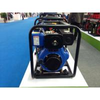 China Recoil  / Manual Start 3 inch Diesel Water Pump 288g / kw . h Fuel Consumption on sale