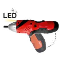 Small 3.6V 1.3Ah Li-ion Cordless Electric Power Screwdriver with Twist / Battery Indicator Manufactures