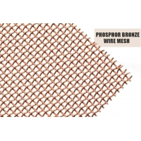 Buy cheap ISO Phosphor Bronze Metal Woven Wire Mesh 1x30m from wholesalers