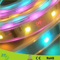 Warm White Flexible Led Ribbon Strip Lights , SMD 5050 / 3528 Led Tape Lighting Manufactures