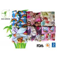 Machine Washable Reusable Sanitary Pads With Anti Bacterial Charcoal Bamboo Manufactures