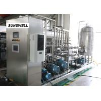 Efficient Energy Saving Carbonated Filling Machine Mounted With  Stainless Steel Control Cabinet Manufactures