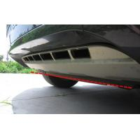 Stainless steel Car Bumper Protector , Custom Guard Board For Touareg 2011