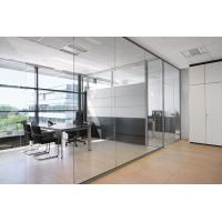 Buy cheap Decorative Clear Glass Aluminum Sliding Doors for Conference Room from wholesalers