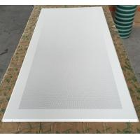 Perforated Aluminum / Metal Soundproof Ceiling Panels , Fire Resistant Ceiling Tiles Dia 1.8mm Manufactures