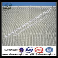 Silver color Ornamental & Decorative Expanded metal for wall facade Manufactures