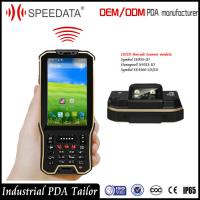Hand Android nfc card Rfid Reader Industrial with Barcode Scanner in a unit