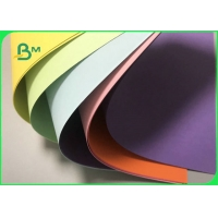 Soft Surface 70gr - 180gr Colour Card Board For Teaching And Office Manufactures