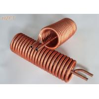 Cheap Liquid Cooling and Heat Exchangers Copper Tube Coil Tin plating Finned Coil for sale