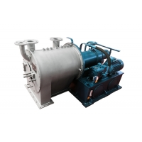 Horizontal PP Sulzer Double Stage Salt Dewatering Centrifuge Equipment For Industrial Manufactures