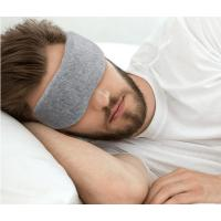 Sleeping Eye Mask 2018 high quality Cotton cloth eyemask very soft for USA European market Manufactures