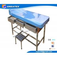Artifical leather Doctor Examination Couch with Pillow for Gynecological  Surgery Manufactures