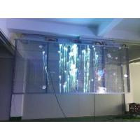 Waterproof Cabinet DIP Transparent Glass LED Display P8 Outdoor For Advertising / Stage Manufactures