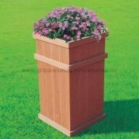 Plant Stand Made of Wood Plastic Composite, High Density, High Degree of UV Stability Manufactures