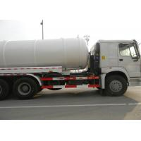 Sewer Cleaning Equipment Sewage Suction Truck 16CBM LHD 6X4 Euro2 290HP , Manufactures