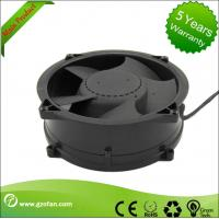 Brushless 48V DC Axial Fan / Bathroom DC Exhaust Fan High Efficiency Manufactures