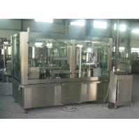 Adjustable Sparkling Water PET Can Filling Machine Industrial Line 2000 Cans / Hour Manufactures