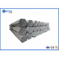 Hot Dipped Zinc Coated Steel Pipe , 6 Inch Galvanized Steel Pipe SCH120 Q195 Manufactures