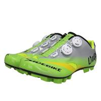Adjustable Self Quick Lace Waterproof Cycling Footwear / Fast Cycling Anti Skid Bike Shoes Manufactures