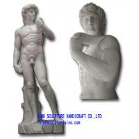 China Marble Statue - Michelangelo's David on sale
