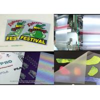 Cheapest Cold Peel Matte Heat Transfer Film For Screen/Offset Printing Heat Transfers And Heat Transfer Labels/Stickers Manufactures