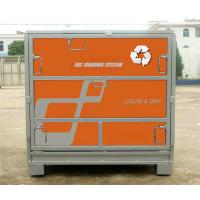 Hot Dip Galvanized Stainless Steel IBC Tank Powder Coated Metal IBC Tote Manufactures