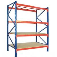 China Competive price and quality heavy duty plywood board storage racking system on sale
