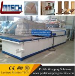 acrylic Modern kitchen cabinet door vacuum membrane press machine Manufactures